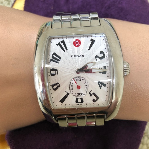 🔴Authentic MICHELE Big Face Watch 💜💛🧡💜